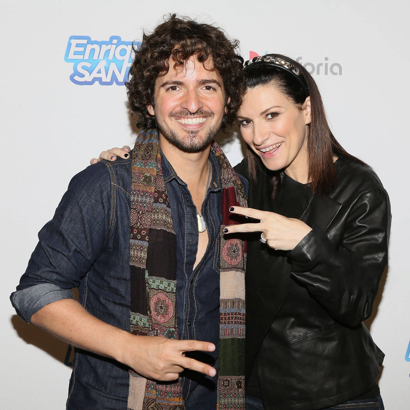 Tommy Torres and Laura Pausini